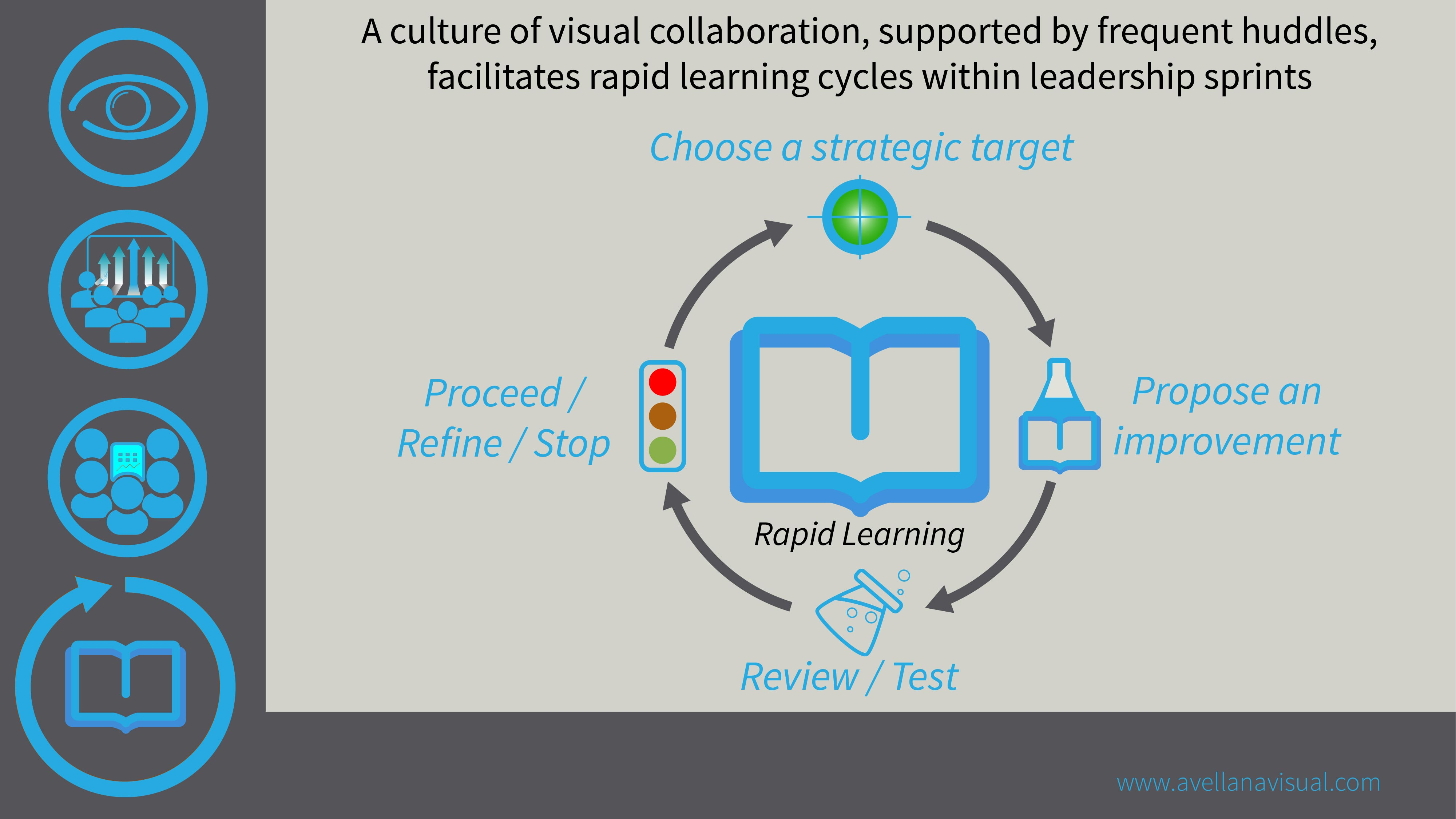 15 Visual enables rapid learning cycles